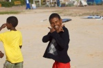 cape verde beach kids